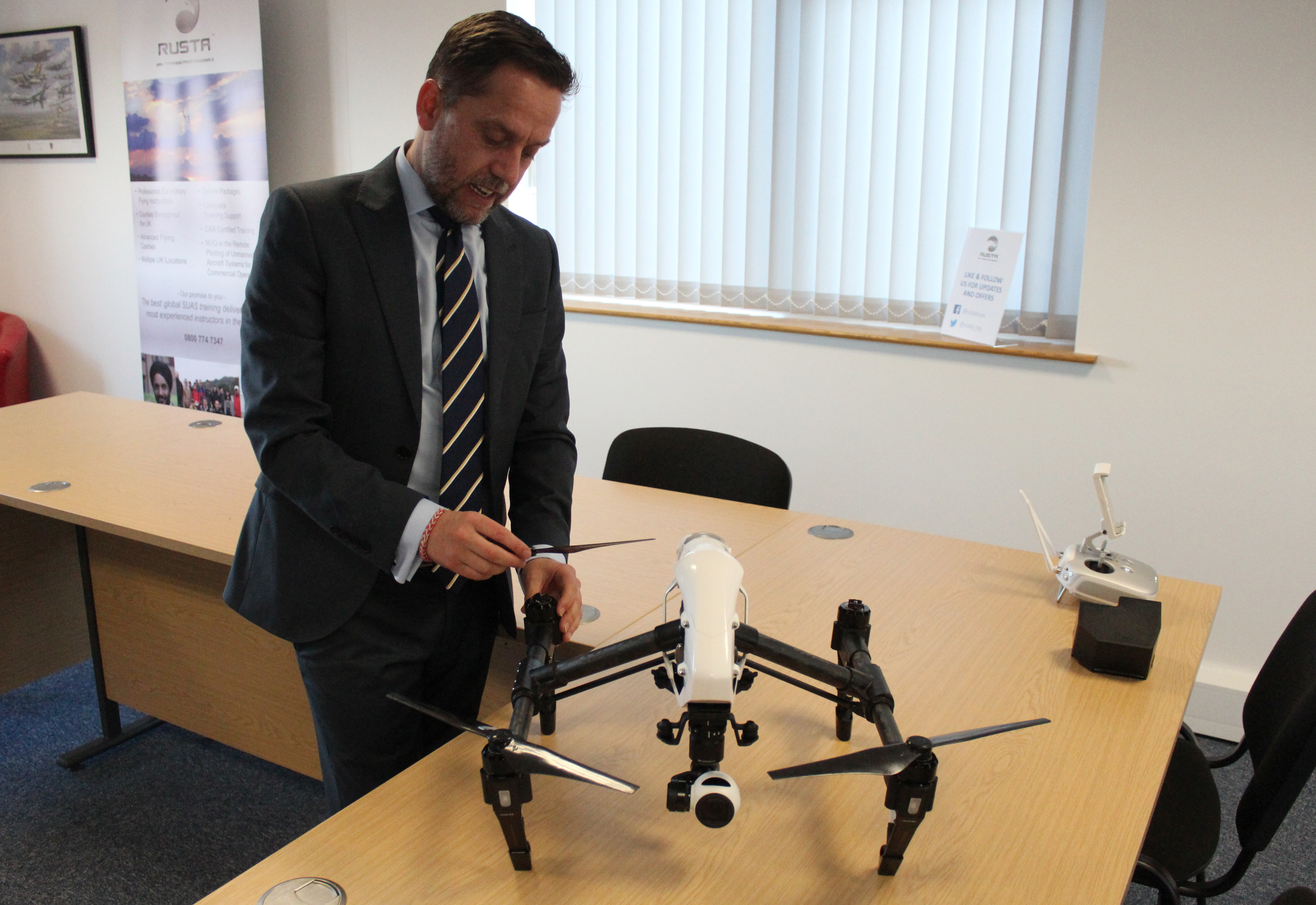 Exclusive Training Academy Calls For More Qualified Drone Instructors Across The Uk