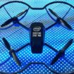 The Intel Shooting Star Mini drone is the company's first dron