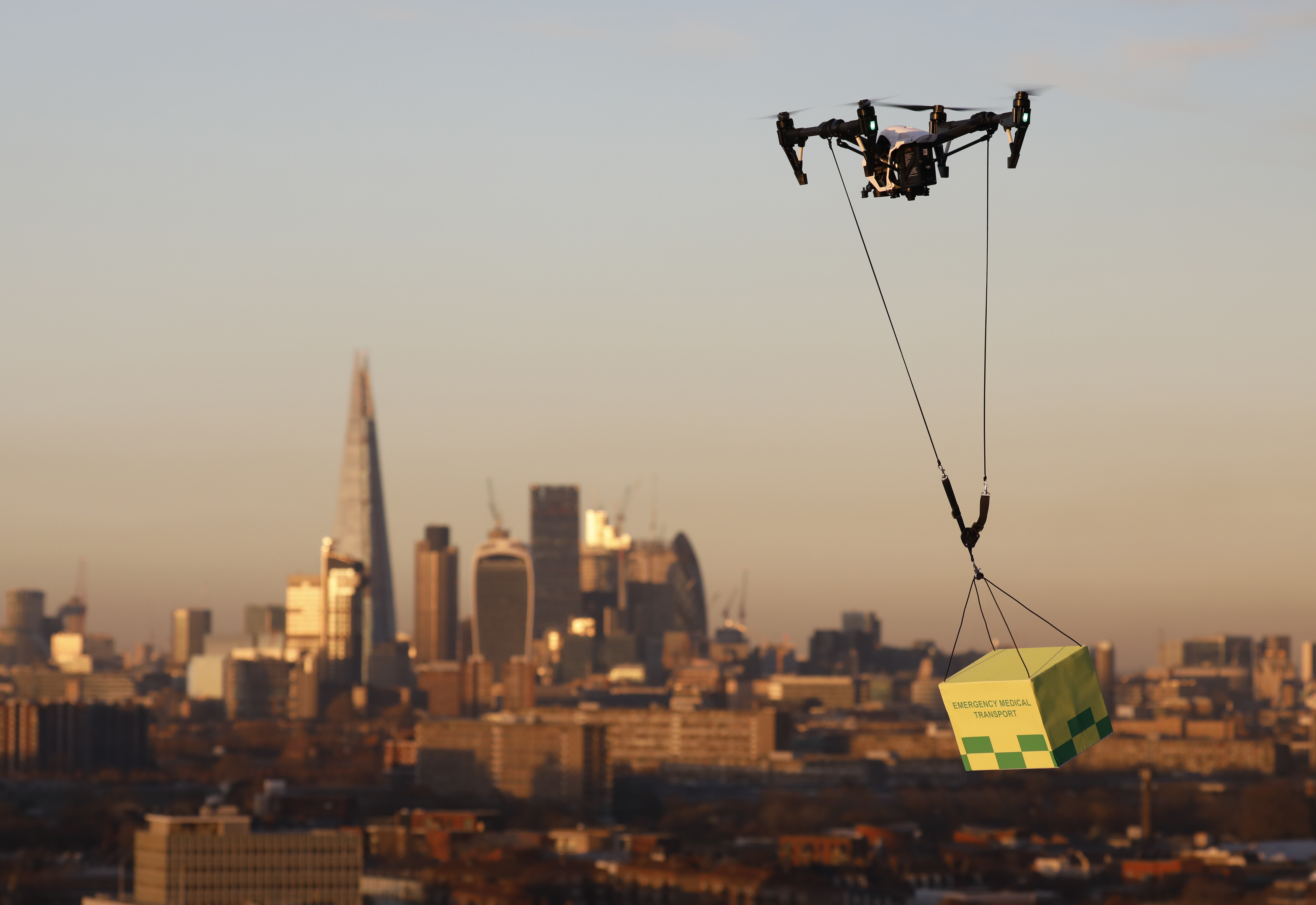 Flying High Challenge Lifts The Lid On Integrating Drones