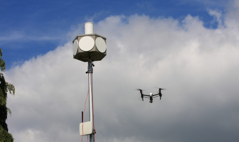 Drone Trial at LSA 2
