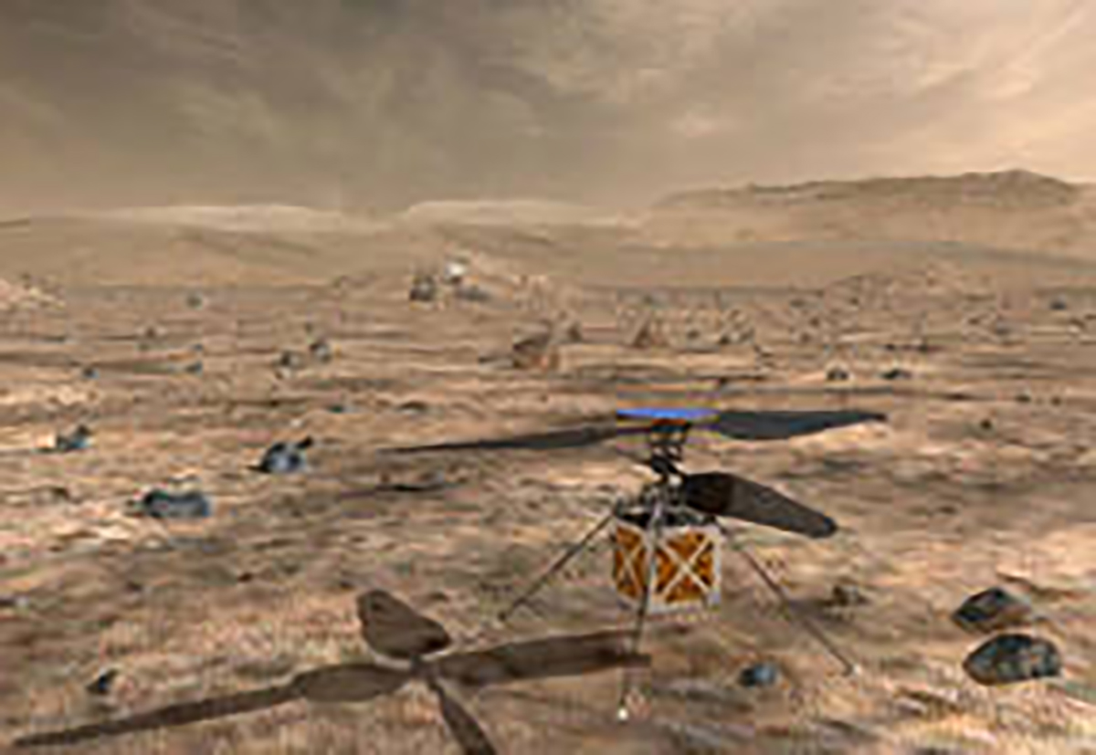 NASA to make aviation history with UAV mission on Mars