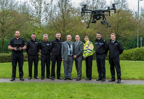drone cheshire police