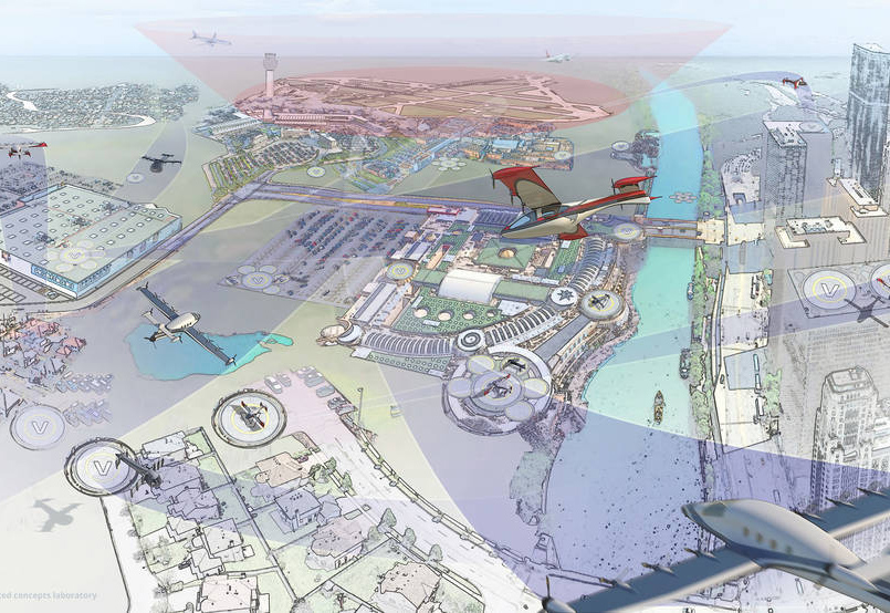 Uber And NASA To Work On Flying Car Concept