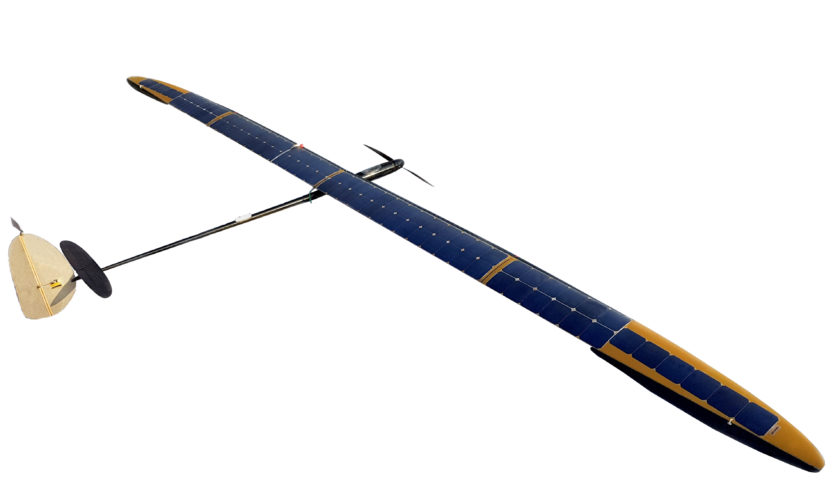 UAVOS solar-powered aircraft