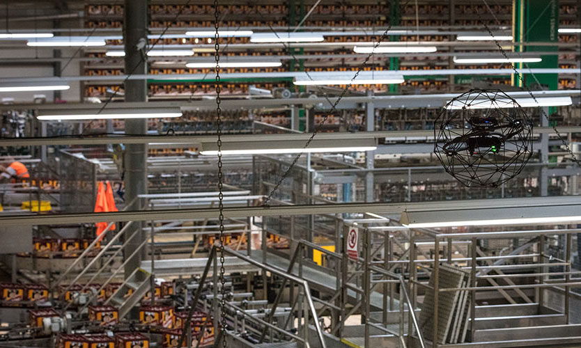 pilsner-urquell-indoor-ceiling-inspection-bottling-plant
