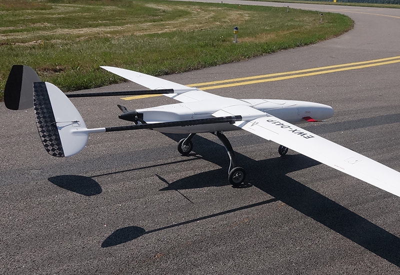 Silicon Valley's new fixed wing UAV designed for LIDAR completes