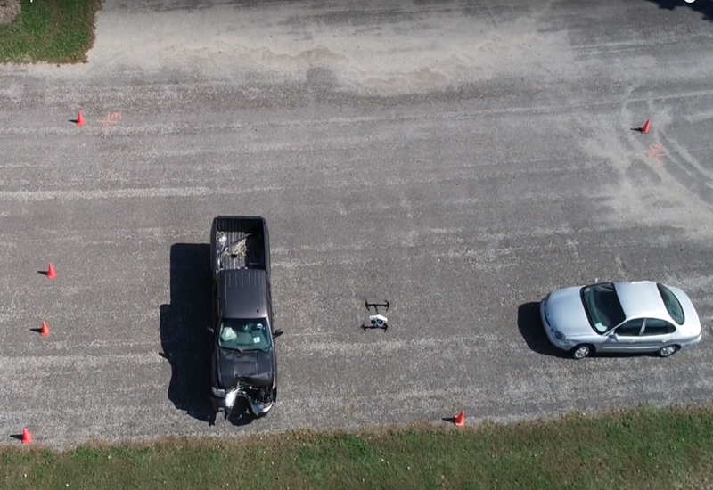 Texas personal injury firm uses drones for road traffic accident investigation and reconstruction