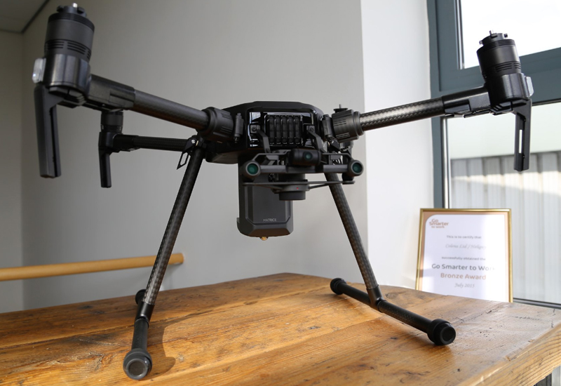 Heliguy receives first UK batch of DJI Matrice 200 V2 series