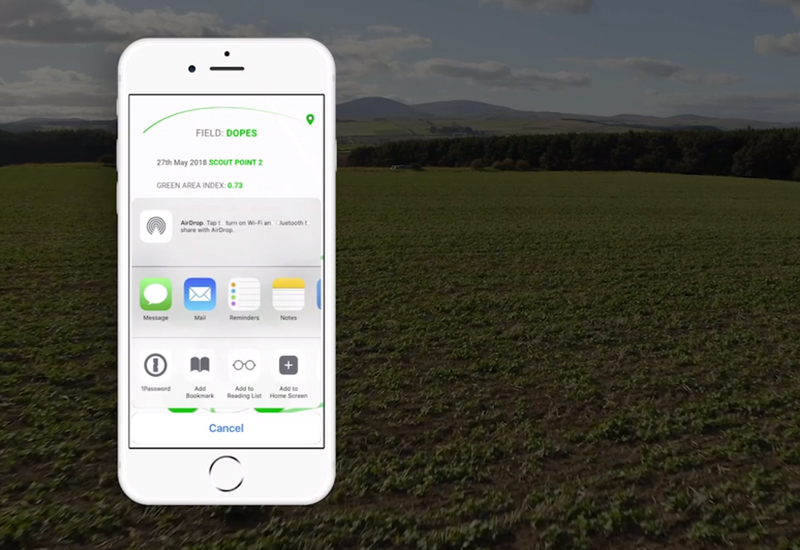 Drone Ag launches crowdfunding campaign for crop scouting software