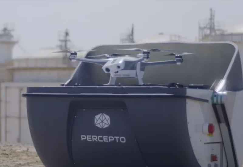 Percepto lauded for accelerating decision making with autonomous drone solution