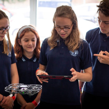 iRed – taking drones into schools