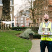 Business is flying – Paragons Elliot Garrett (pictured) leads the consultancys growing drone services offer