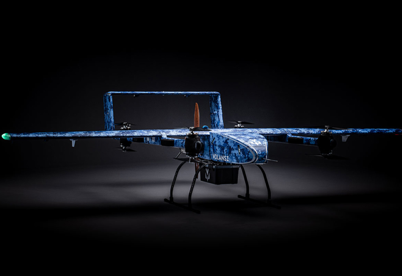 VIDEO: New VOLY M20 long-range cargo drone