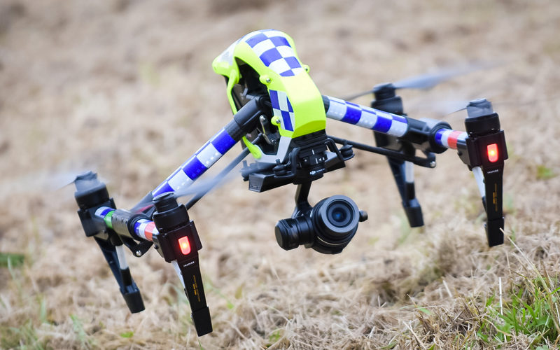 CSD Operated Surveillance Drone