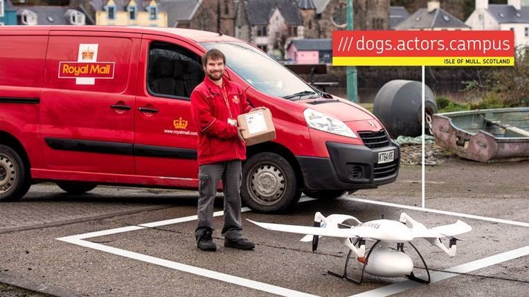 Royal Mail delivery drone