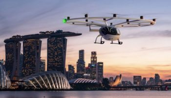 VoloCity flies over Singapore