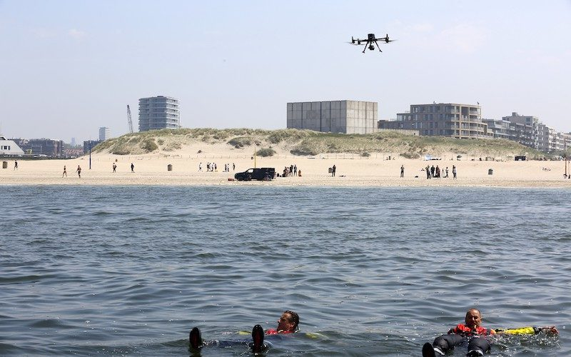 Image-KPN-TNO-KNRM-test-drone-for-locating-drowning-persons
