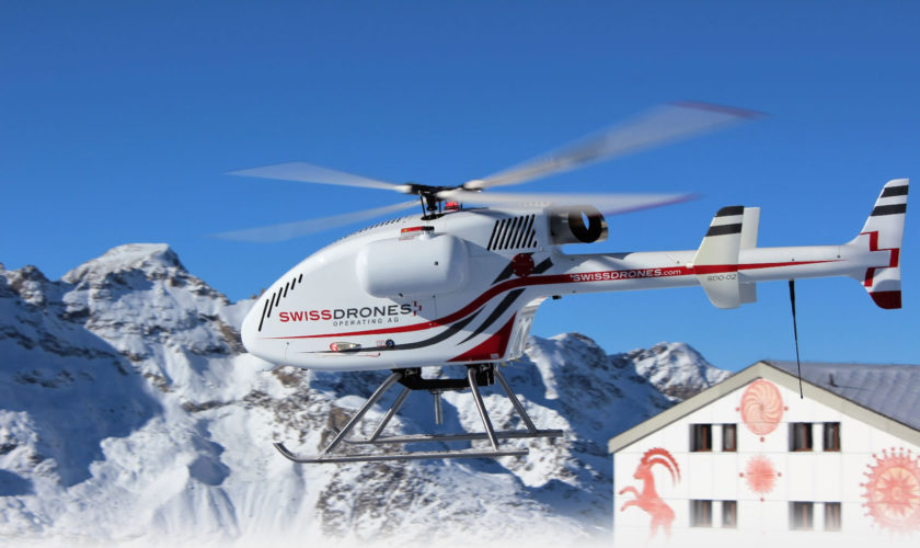 helicopter-drone-snow
