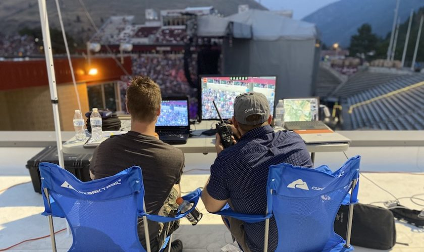 Cloud-Cover-deploys-Elistair-drone-for-surveillance-at-the-Guns-NRoses-concert